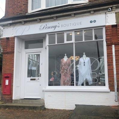 Penny's Boutique shop front